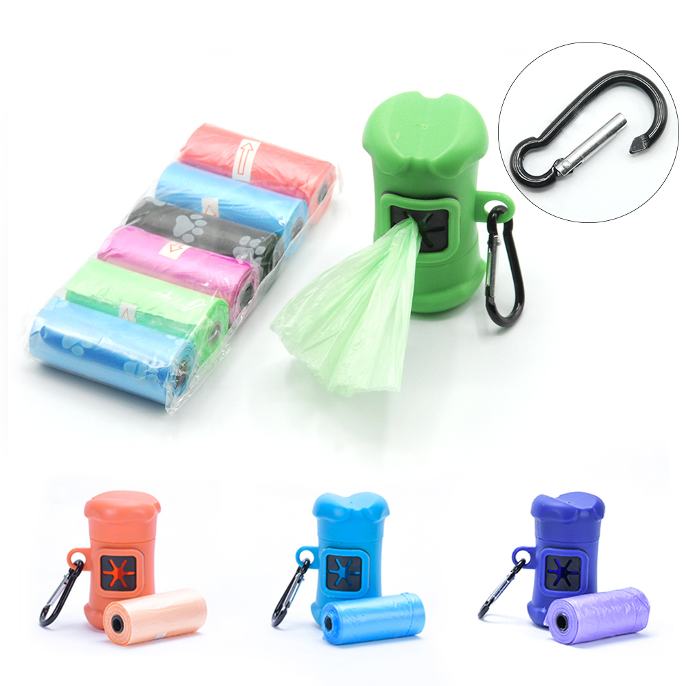Dog Accessories Pet Pooper Scooper Dog Bag Pet Supplies Portable Waste Bags Cat Poop Pick Up Dog Pooper Scooper Pooper Bag PG004