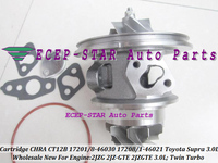 Free Ship Twin Turbo Cartridge CHRA CT12B 17208 46030 17208 46021 17201 46021 17201 46030 For TOYOTA Supra 2JZ GTE 2JZGTE 3.0L