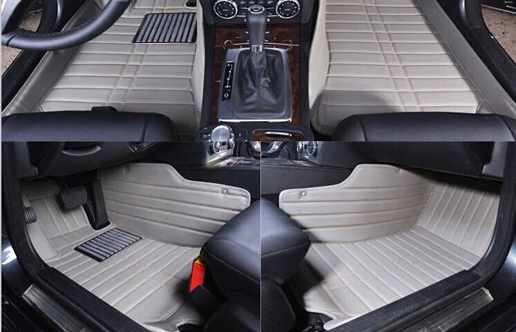 En kaliteli! Özel araba paspaslar Sağ El Sürücü için Jeep Grand Cherokee wk2 wk wj 2018-1999 su geçirmez halı, ücretsiz kargo