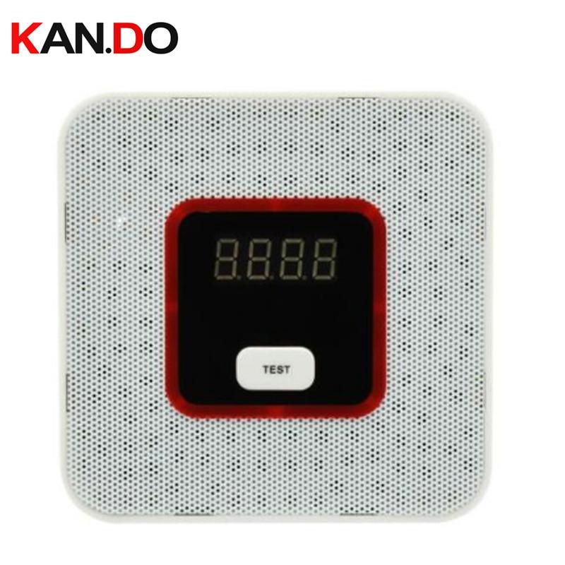 Natural Gas Leak Alarm Sensor With Voice Warning Alarm Sensor Home Secrity Gas Sensor With Alarm Leak Detector Combustible Gas