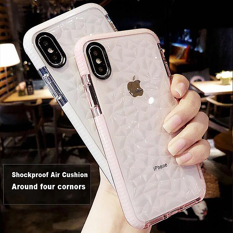 High Quality Soft Silicone Shockproof Cover Protector Case for Apple iPhone 7 Plus X 8 6 s 7Plus Coque Funda Clear 360 Bumper