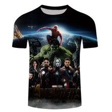 Marvel Avengers 3 Infinity War Spiderman 3D Print T-shirt Men/Women Superhero T shirt Male fitness Clothing Man's Tops Tee