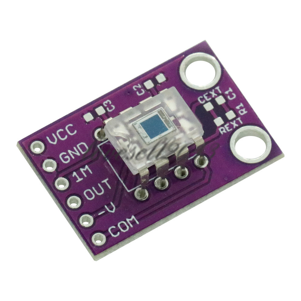 OPT101 Analog Light Sensor Module Light Intensity Monolithic Photodiode Transimpedance Amplifier Module Monolithic Photodiode