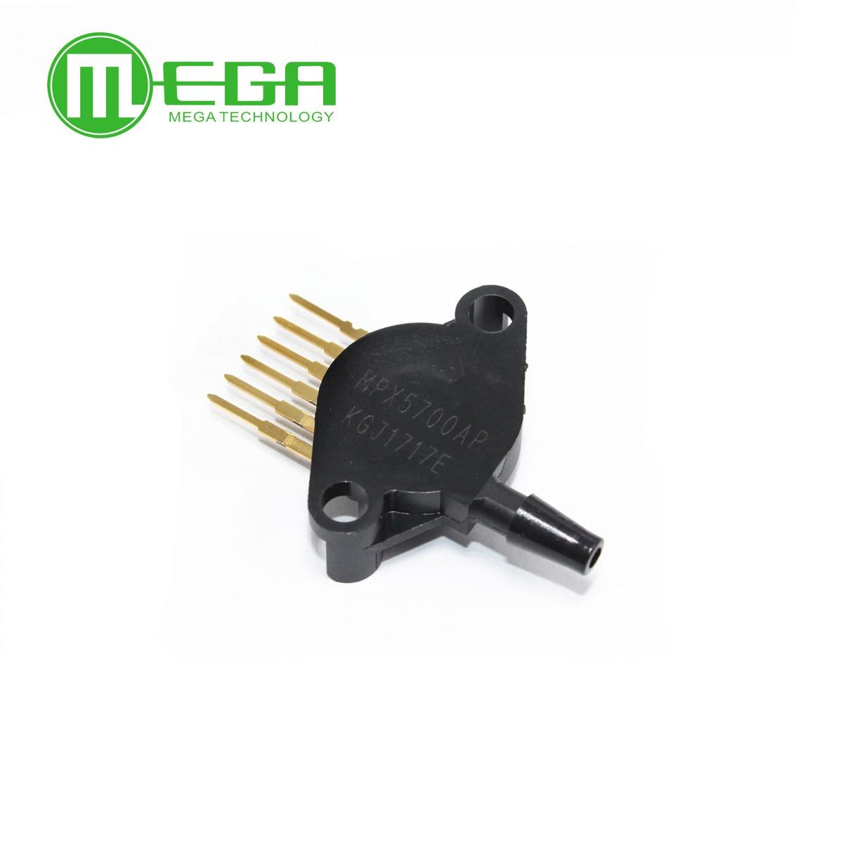 mpx5700ap - 1pcs,New and original  MPX5700AP MPX5700 ABS 6-SIP PRESSURE SENSOR Integrated Circuits