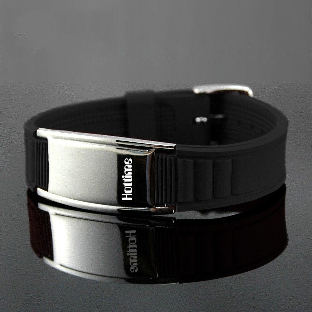 Hottime 2000 Ionen Titanium Germanium Polsband Armband Balans Energiebalans Menselijk lichaam