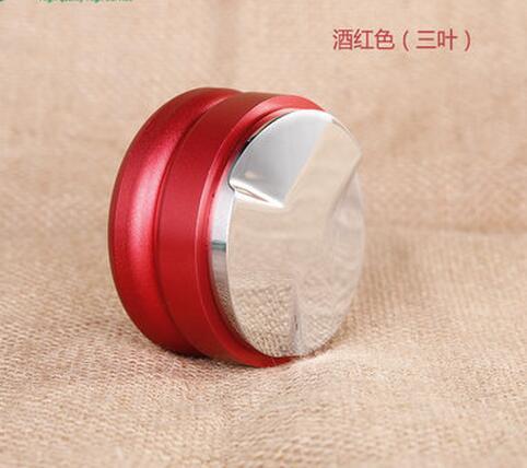 New portable stainless steel Coffee tamper screw 58mm espresso coffee pressure powder