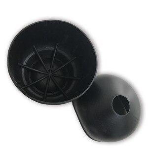 Image 3 - AC9680 الرماية الهدف HPA الكربون أسطوانة من الألياف الألوان Airgun حامي قاعدة أكواب مطاطية Pcp الهواء بندقية خزان غطاء للكم Acecare