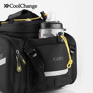 Image 2 - Coolchange saco de bicicleta à prova d35água 35l multifuncional portátil ciclismo traseiro saco da cauda bolsa ombro acessórios