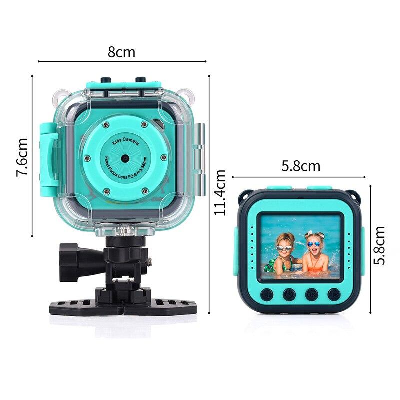 Enfants enfant caméra vidéo numérique jouet juguete 20 M étanche sport action caméra plusieurs langues précieux cadeau de noël P20 - 2