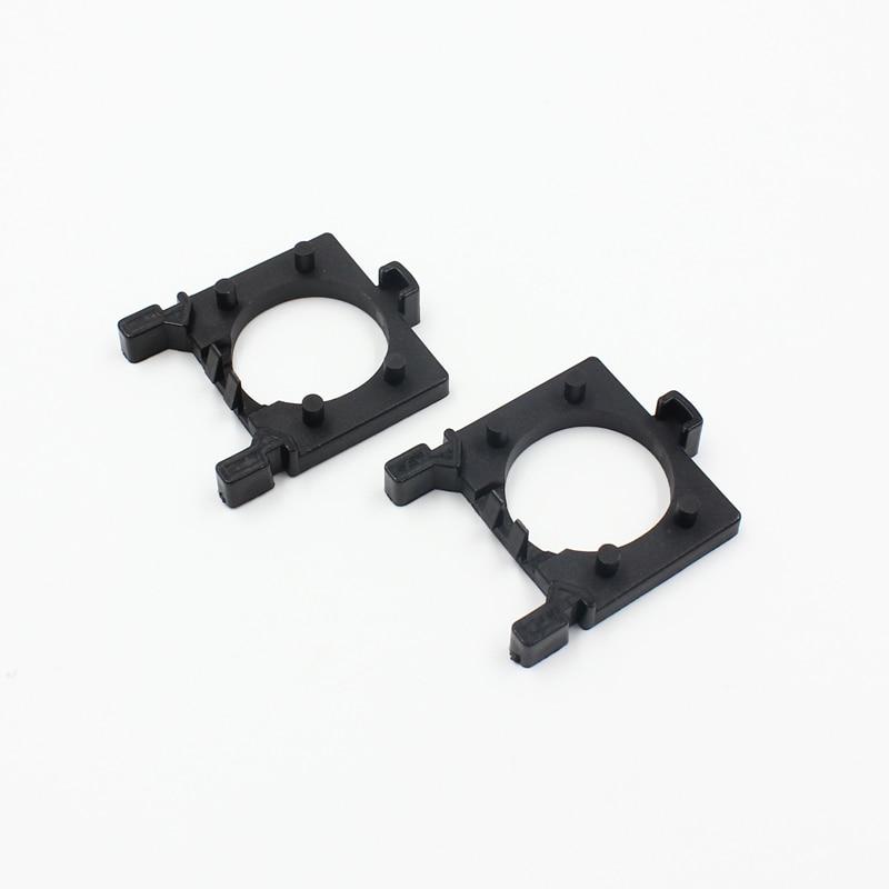 10pcs Black Plastic Car H7 LED Headlight Lamp Bulb Holder Adapter for Ford Focus
