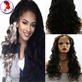 Long Wet Wavy Wigs Full Lace Human Hair Wigs For Black Women Indian Virgin Wig Natural Hairline 8A Lace Front Human Hair