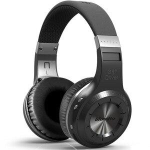 Image 1 - 業 bluedio ht ワイヤレス bluetooth ヘッドフォン bt 5.0 バージョンステレオ bluetooth ヘッドセット通話と音楽のための内蔵マイクヘッドセット