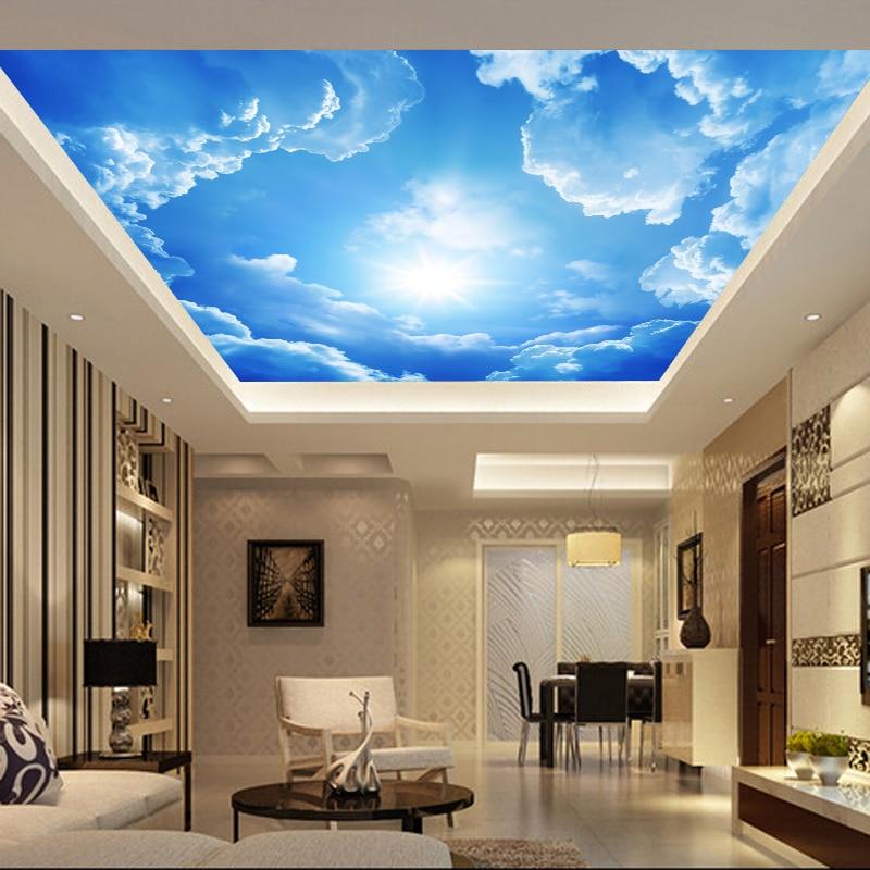 Alibaba グループ Aliexpress Comの 壁紙 からの リビングルームの寝室の天井青い空と白い雲
