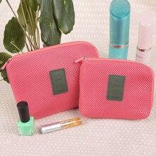 Portable Storage Bag Cable Organizer Digital Gadget Devices USB Earphone Pen Travel Kit Case Women Messenger Cosmetic bags