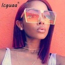 Очки солнцезащитные женские в ретро стиле Модные Винтажные квадратные