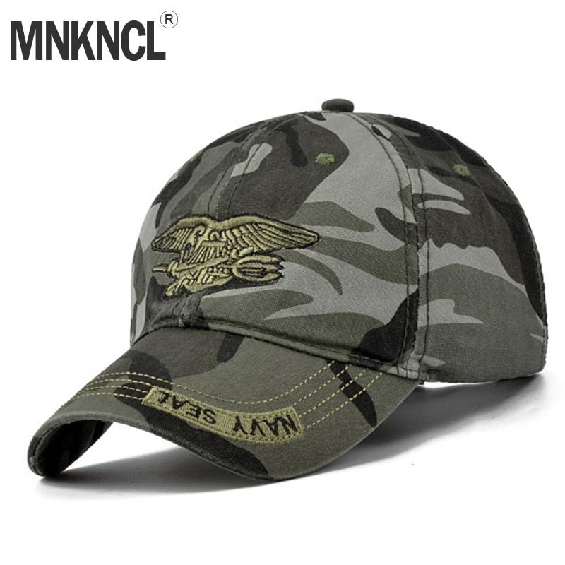 ca14781b4977 Gorra militar de alta calidad MNKNCL Gorra de béisbol de camuflaje para  hombre Gorra táctica de Snapback para hombre gorras de béisbol Gorra de ...