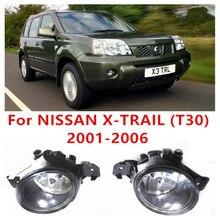 For NISSAN X-TRAIL (T30) 2001-2006 Car Styling Front Bumper Halogen Fog Lights High Brightness FOG LAMPS