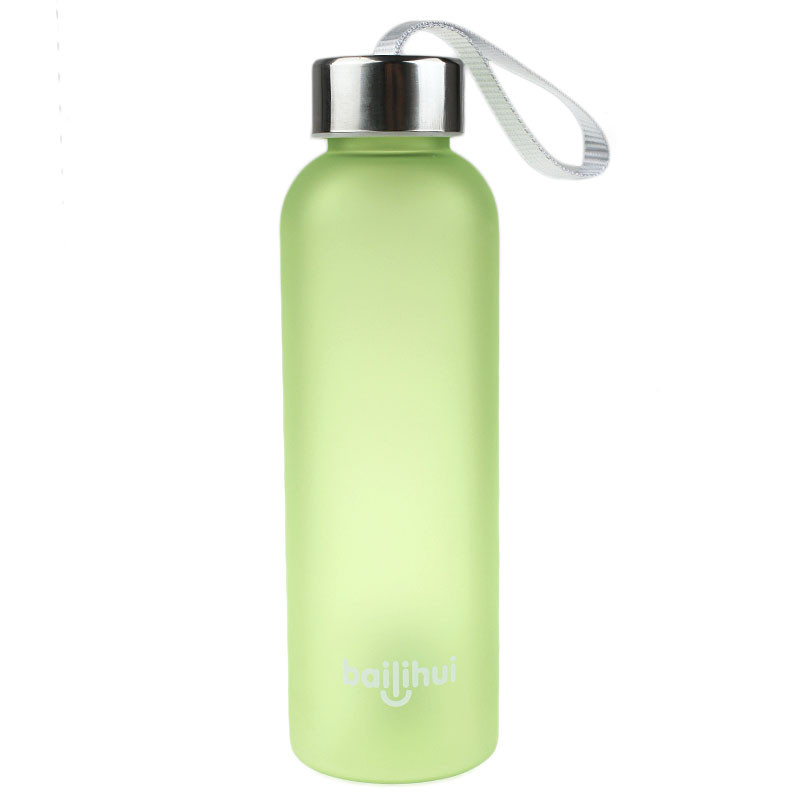 2019 New New Leak Tight Fruit Juice Sport Portable Travel Bottle Water Cup 600ML High Quality Plastic Water Bottle #Q16R (8)