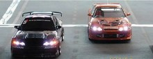 Led  light set for 1/10 1/8 RC racing  car RC truck(controlled by the radio) free shipping