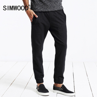 SIMWOOD 2016 Autumn Winter New Men Leisure Harem Pants Joggers Sweatpants KW3008