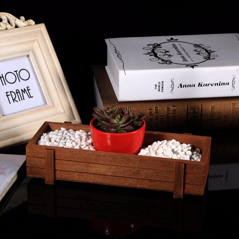 Large 1 Metre Wooden Garden Planter Box Trough Herb: Wooden Planter Box Succulent Planter Wooden Flower Boxes
