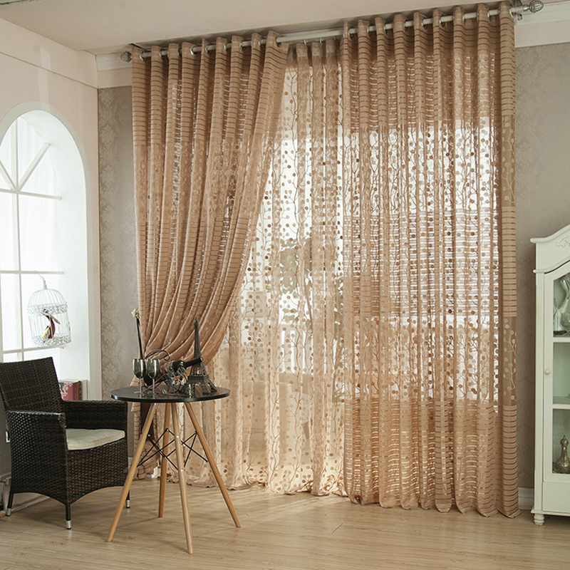 Luxury Design Curtains Kitchen Semi Blackout Nice Curtain