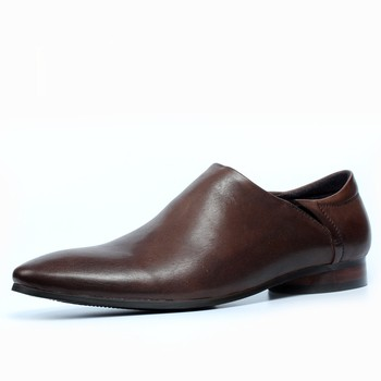 New Hot 2018 British Style Men Formal Business Shoes Flat heel Fashion Men Leather Dress Shoes