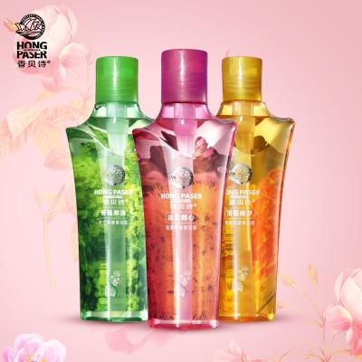 3pcs Set Exfoliating Skin Fragrance Body Wash Gentle Nourishment Conditioning Sleeping  Shower Gel