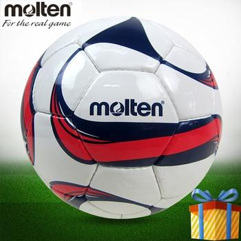 Fundido de fútbol F5F1700 pelota de fútbol tamaño 5 PU material profesional  calcio formación metegol pelotas 303944d03cc07