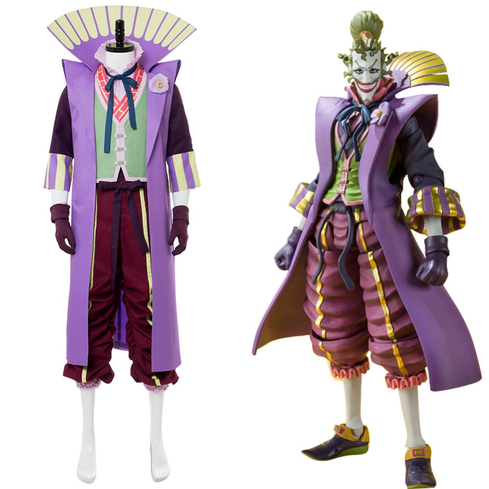 Batman Ninja Joker Halloween Cosplay Costume Japanese Style