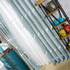 American Style Screens Fresh Garden Bird Pattern Embroidery Sheer Tulle Blackout Curtains Custom For Living Room