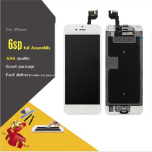 AAA+++ Display For iPhone 6S Plus LCD Full Assembly With Camera Home Button Touch Screen Display Replacement Completed