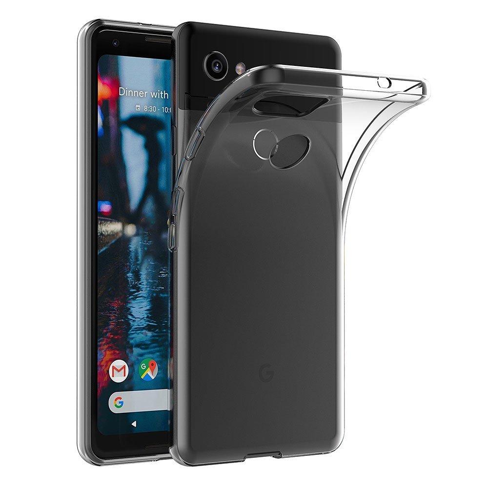 Transparent Case For Google Pixel 2 XL Soft TPU Silicone