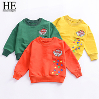 Baby Girl Sweatshirts 2017 Girls Kids Long Sleeve Tops Tees Autumn Winter Baby Boy T Shirt