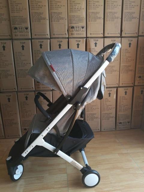 YOYAplus Лежа легкий складной коляски сидя лежа двойного использования детей в четырех сезонов высокого пейзаж коляска