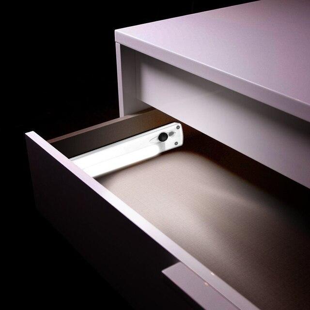 Sensor sem fio Interior Armário de Cozinha Wardrobe Closet Lâmpada Portátil Luzes LED Super Brilhante de Poupança de Energia Fácil Instalação