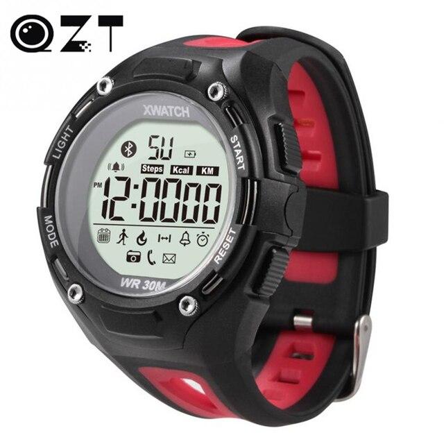 1xwatch Открытый Спорт Smart Watch Водонепроницаемый пыленепроницаемый Ночной Видимости APP Шагомер Sleep Monitor Для xiaomi Android Bluetooth4.0