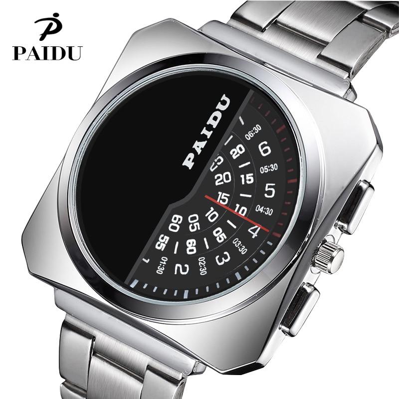 Newest Design Paidu Watch Men Fashion Luxury Elegant Full Steel Watch Ladies Wristwatch Male Clock Quartz Relojes High Quality