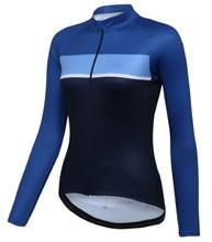 2016 Pro Women Autumn Cycling Jersey Long sleeve Bicycle Clothing Mountain bike Jacket