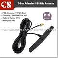 1 ШТ. 868 М антенна T-Bar Клей 868 мГц Антенна, Телевизор С патч-антенна IP67 водонепроницаемый 868 мГц антенна