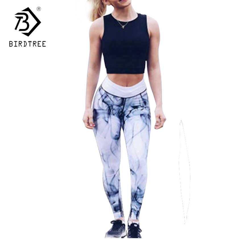 2017 Women Fourneedle Six Lines Charming Curve Soft 2017 Autumn New Pants Slim Female Trousers Fitness Leggings Hot Sale B7N310A