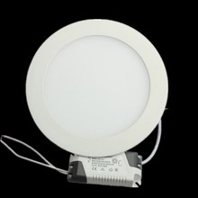 LED Downlight Recessed Kitchen Bathroom Lamp 85-265V 25W Round/Square LED Ceiling Panel light Warm/Natural/Cool White Free ship