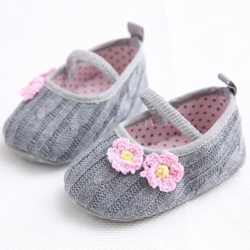 Хлопчатобумажная ткань + Вязание сладкий младенческой Обувь для младенцев удобные высококачественные детские обувь для девочек новорожде... ...