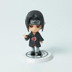 Экшн-фигурки аниме «Наруто», Q версия, Саске, Харуно, Сакура, Учиха, Итачи, ПВХ, модель коллекции игрушек WX170C, хит продаж