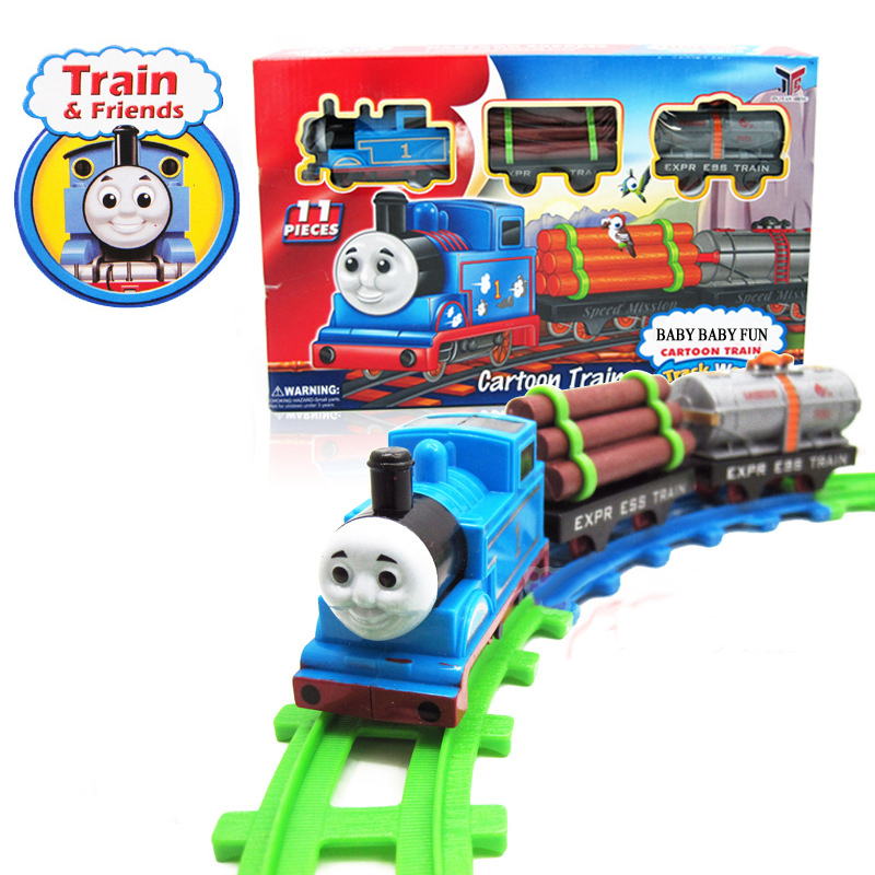 Best Thomas And Friends Toys And Trains : Aliexpress buy set thomas train toys electric rail