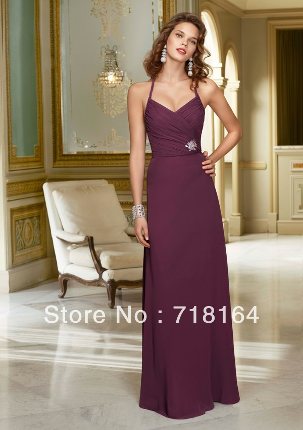 Compare Prices on Purple Bridesmaid Dresses under 100- Online ...