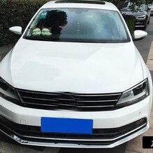 Сталь Передняя под решеткой литья отделка хром для VW Jetta MK6 Sedan