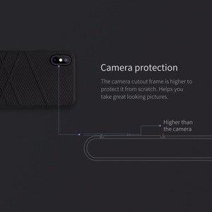 Image 3 - Original pour iphone x Coque NILLKIN Silicone liquide Coque arrière pour iphone X Ultra mince Gel souple caoutchouc pour iphone X Coque Fundas 10