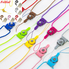 Cell Mobile Phone Camera Neck Lanyard Detachable Multifunction Strap ID Card Key Ring Holder Mobile Phone Lanyard strap mbr cell power neck