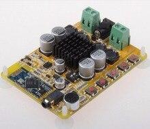 Novo TDA7492 Bluetooth 4.0 Placa De Amplificador de Potência 2×50 W Amplificador Digital Dual Channel com Microfone CSR8635 Bluetooth G5-005